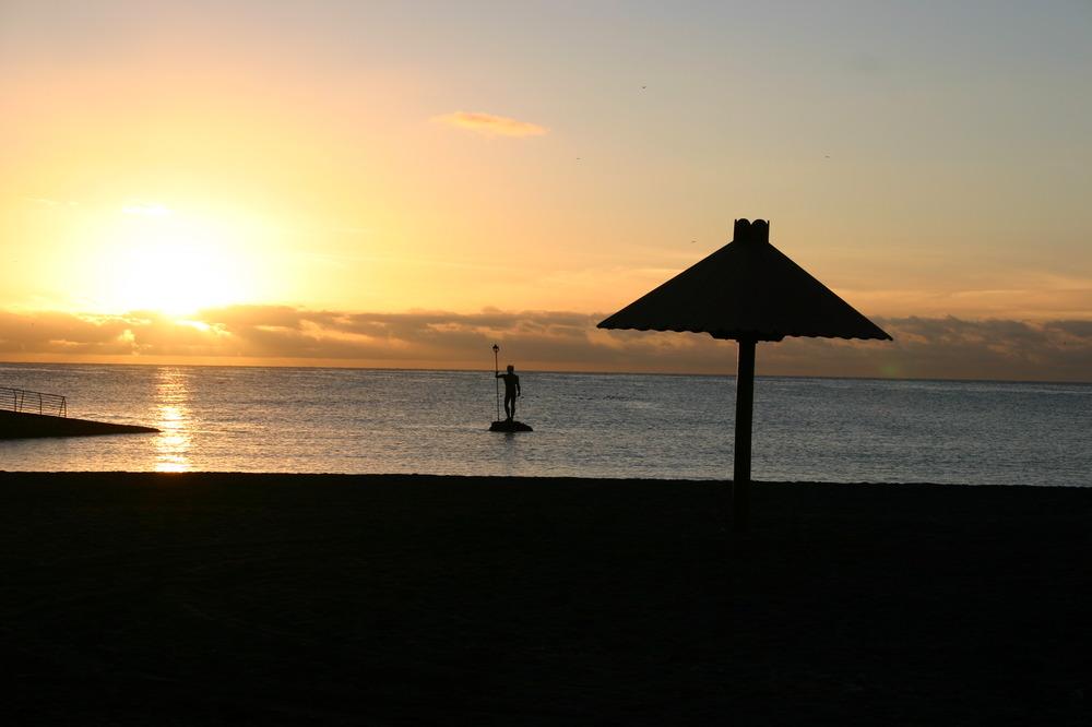 Atardecer en Canarias