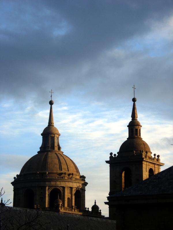 Atardecer en El Escorial