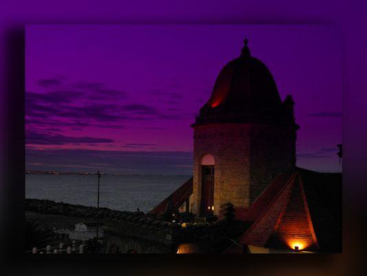 atardecer en el torreon del monje