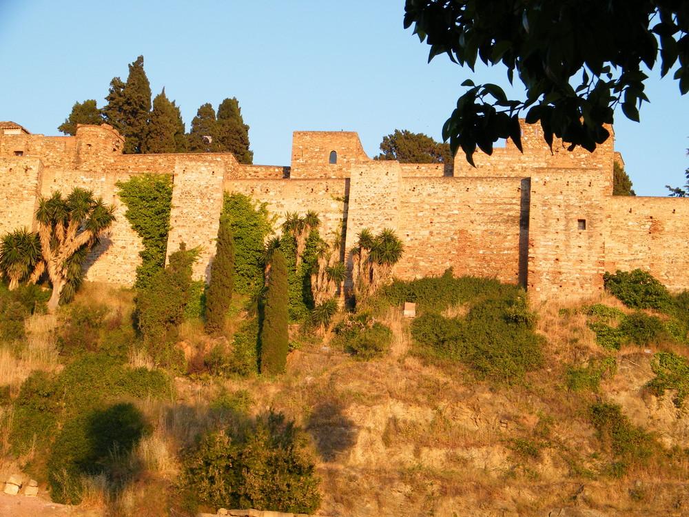 Atardecer en La Alcazaba