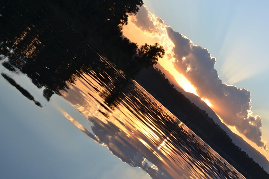 atardecer en lago de guadalupe 2