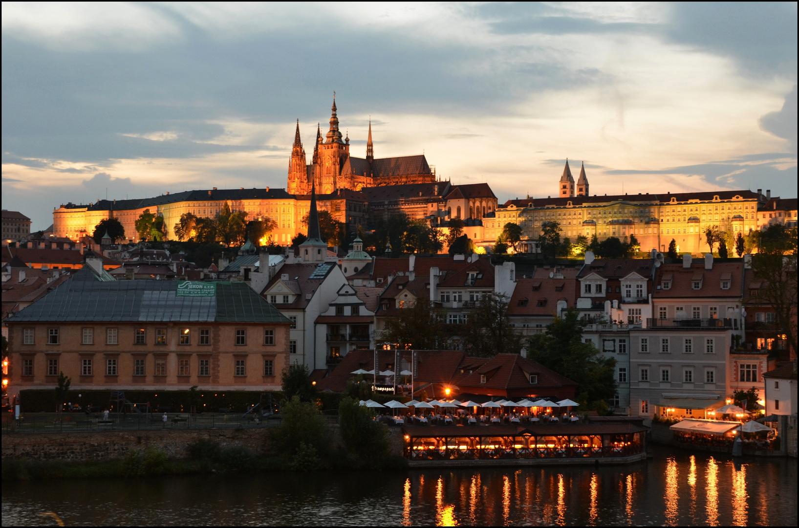 Atardecer en Praga