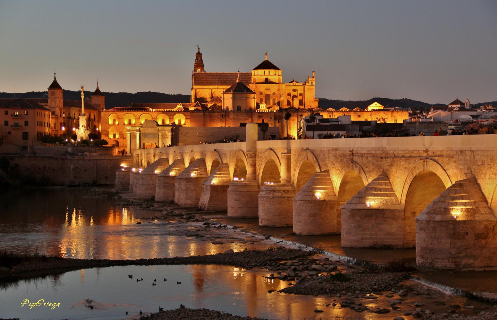 Atardecer en Puente Romano