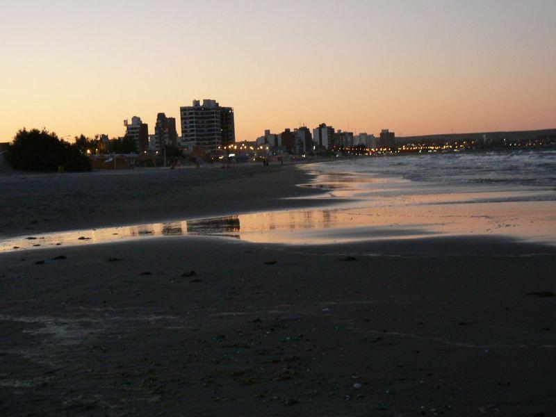 Atardecer en Puerto Madryn