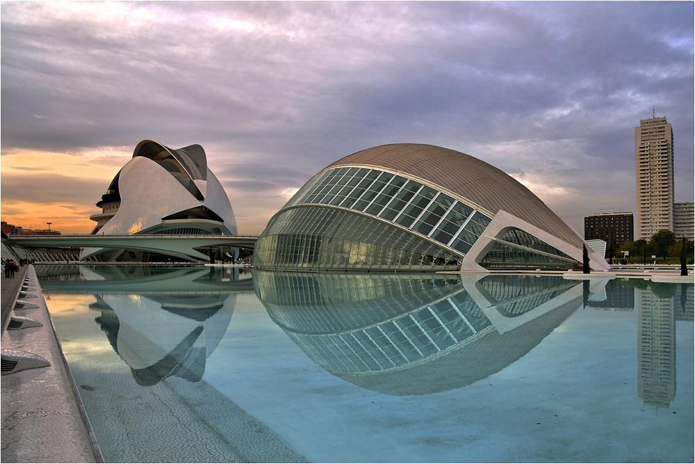Atardecer en Valencia II