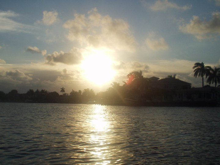 Atardecer FortLauderdale-Florida