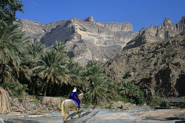 Atelier retouches n° 17  :promenade au Sultanat d'Oman