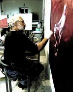 Atelier-Serie: der Künstler und sein Werk