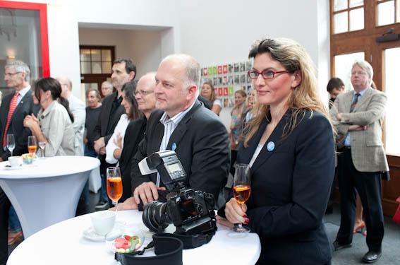 Atelier4Foto bei der Ausstellungseröffnung