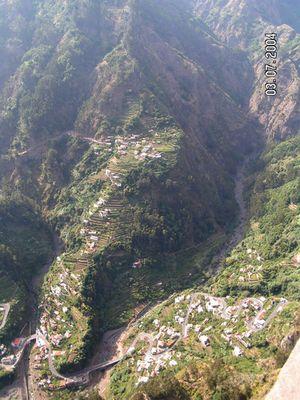 Atemberaubend - Lage von Siedlungen auf Madeira