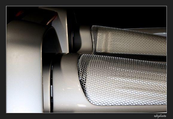 Atemwege PORSCHE Carrera GT