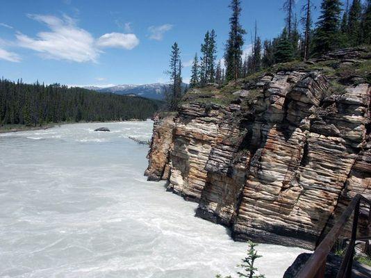 Athabasca Falls....