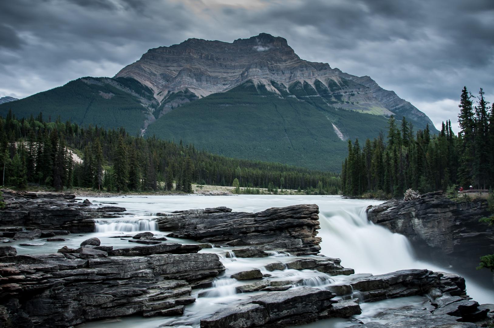 Athabasca Falls, Jasper Nationalpark, Kanada