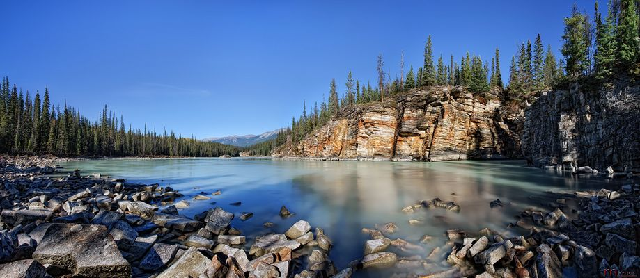 Athabasca River....
