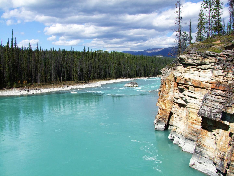 Athabasca River - im Jasper Nationalpark (14.09.2012)