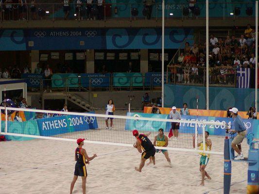 Athen 2004 Beachvolleyball