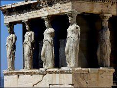 Athen - Akropolis - Korenhalle - Karyatiden