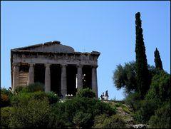 Athen - Griechische Agora - Hephaistos-Tempel