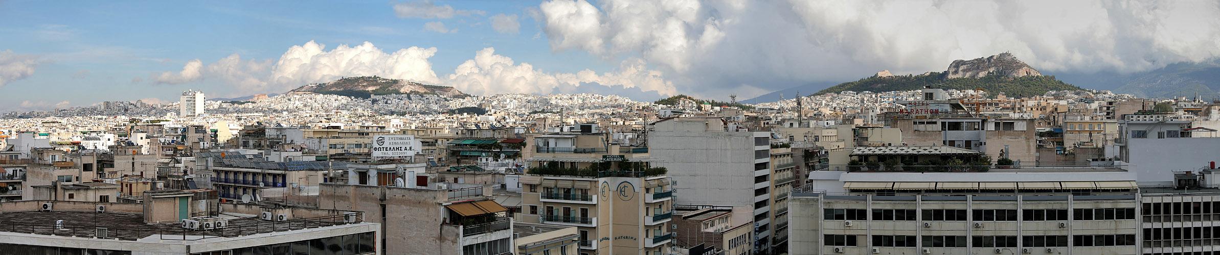 Athen Stadtansichten