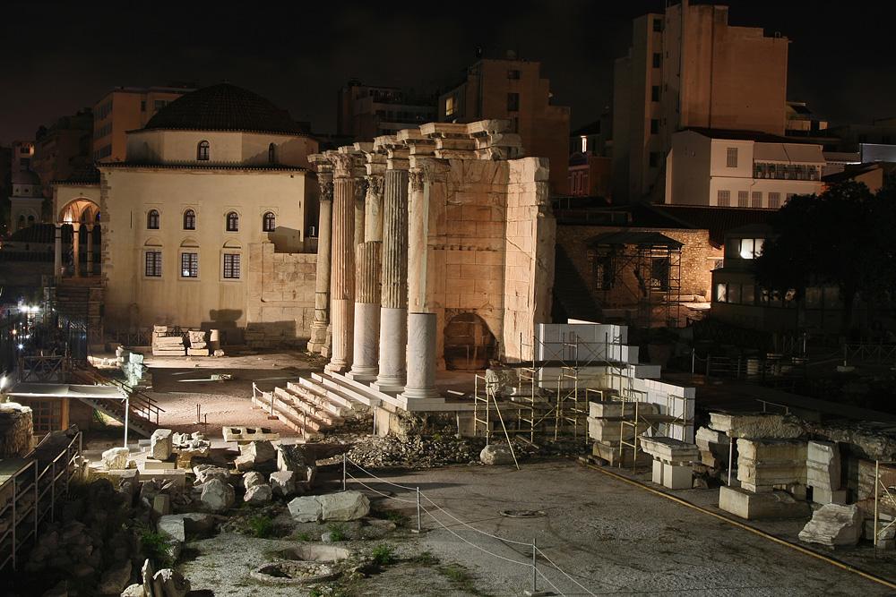 Athen Vivliothiki tou Adrianou