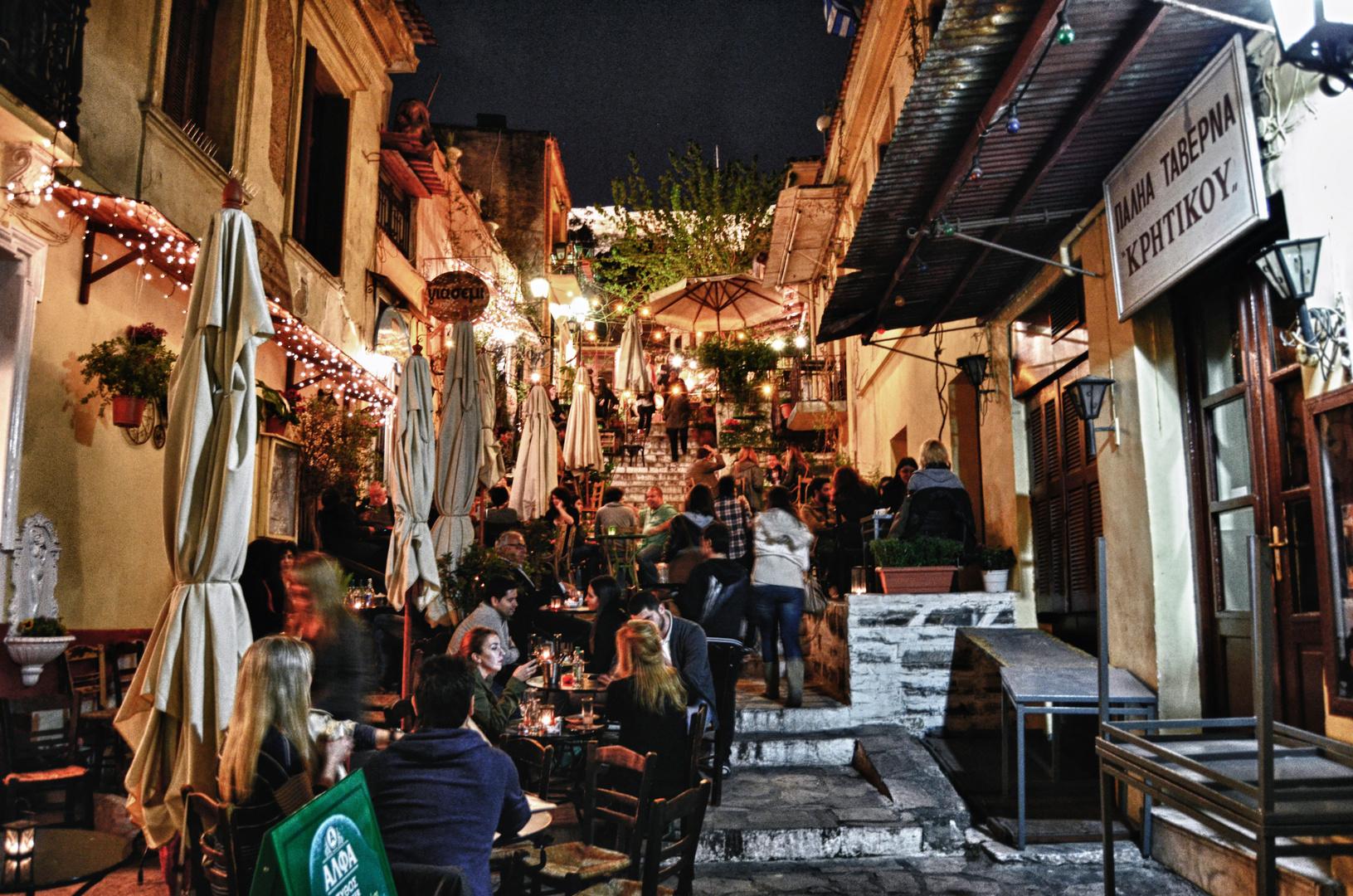 Athener Nachtleben