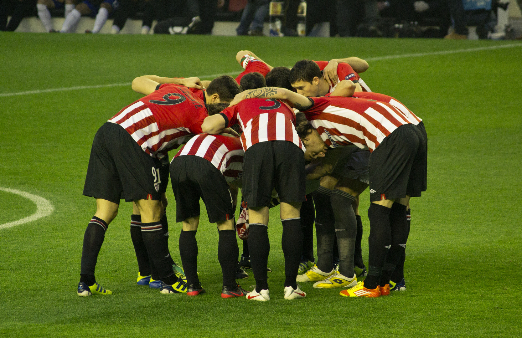 Athletic Club Vs. Manchester United