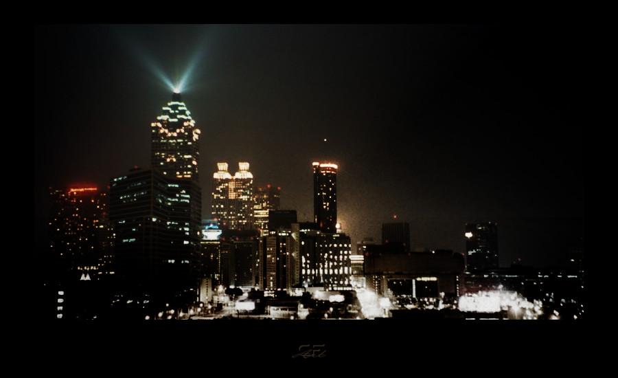 Atlanta bei Nacht