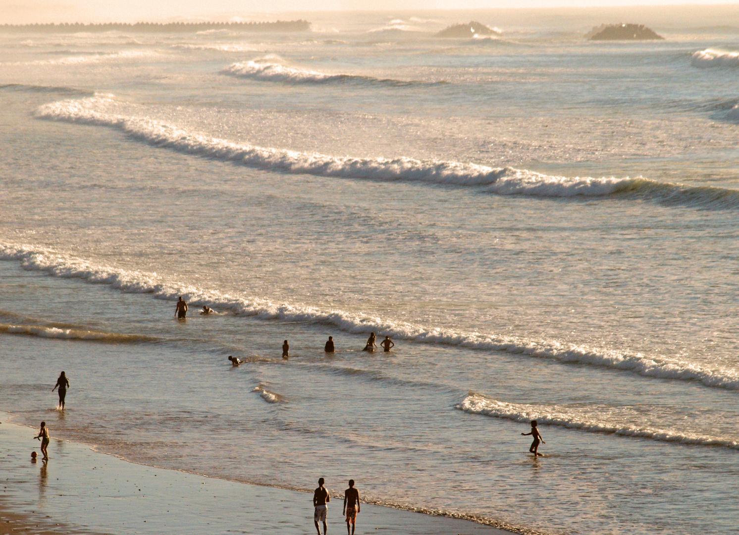 Atlantikbadefreuden in Agadir