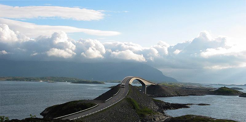 Atlantikstraße - Norwegen 2005