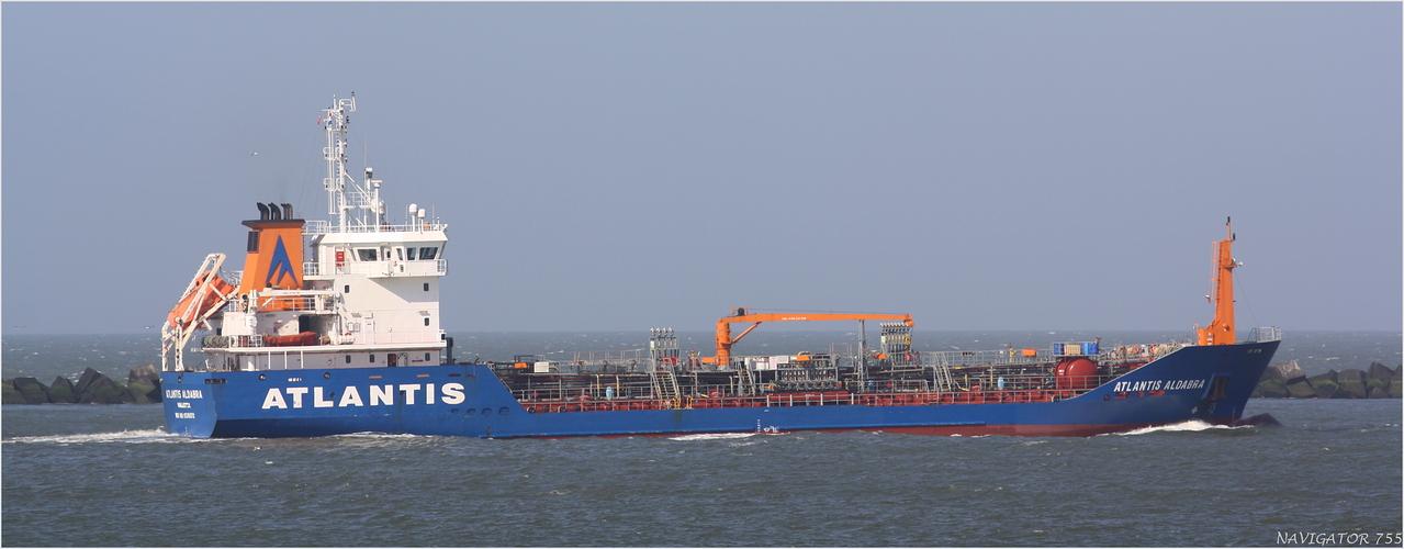 ATLANTIS ALDABRA / Oil/chemical Tanker / Maasmond / Rotterdam