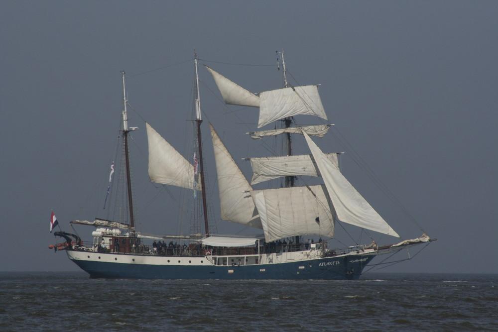 Atlantis vor Cuxhaven