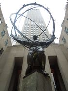 Atlas - Statue am Rockefeller Center in NYC