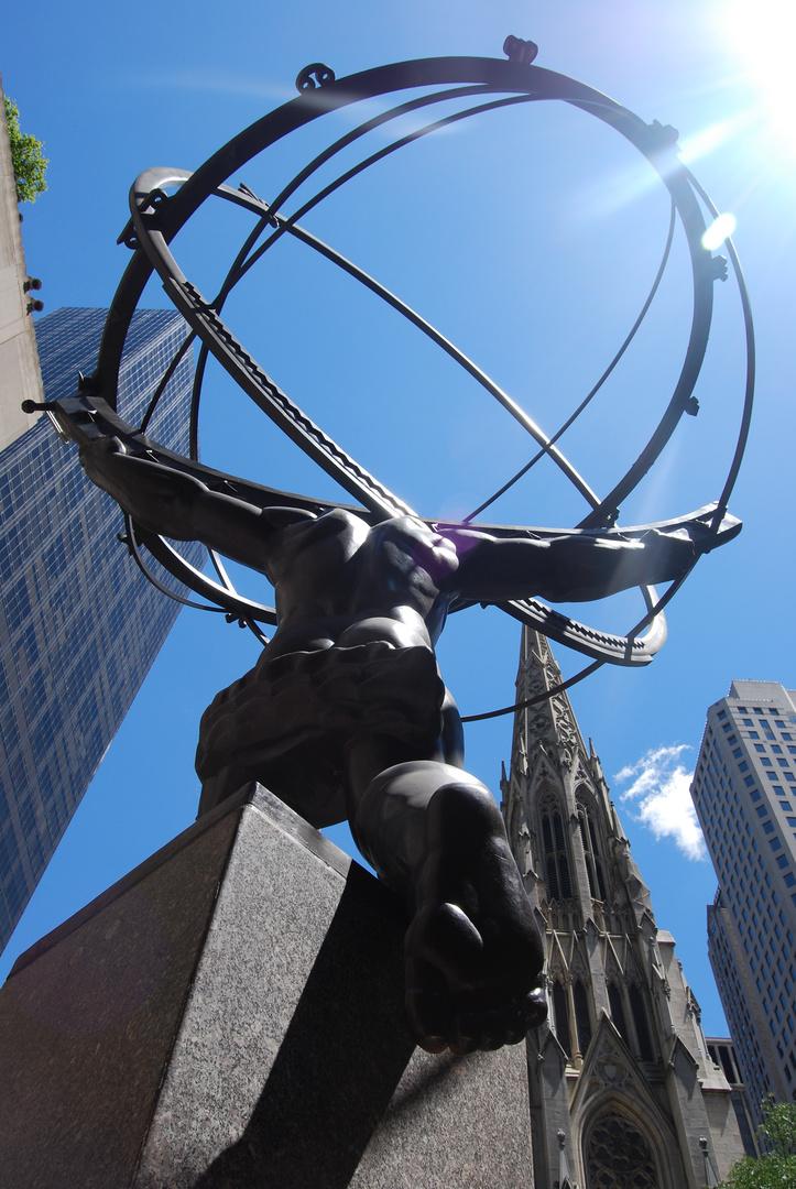 Atlas, sujeta el Mundo