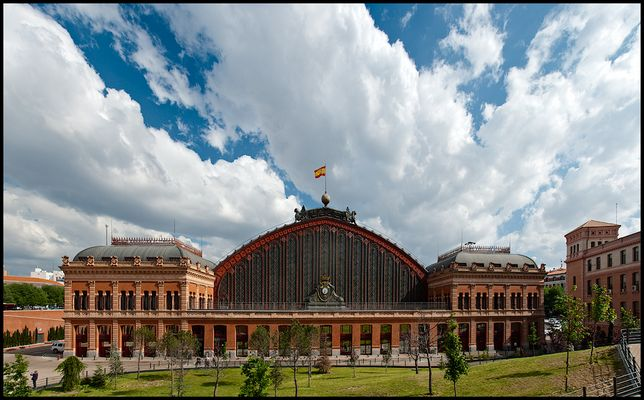 Atocha Bahnhof, Madrid