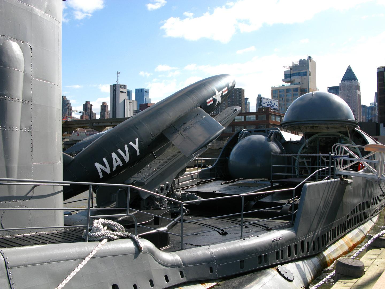 Atom U-Boot vor New York