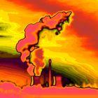 Atomkraftwerk abstrakt