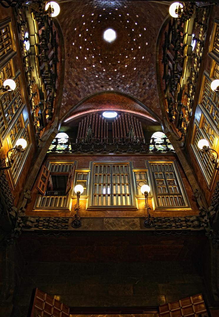 Atrium im Palau Güell