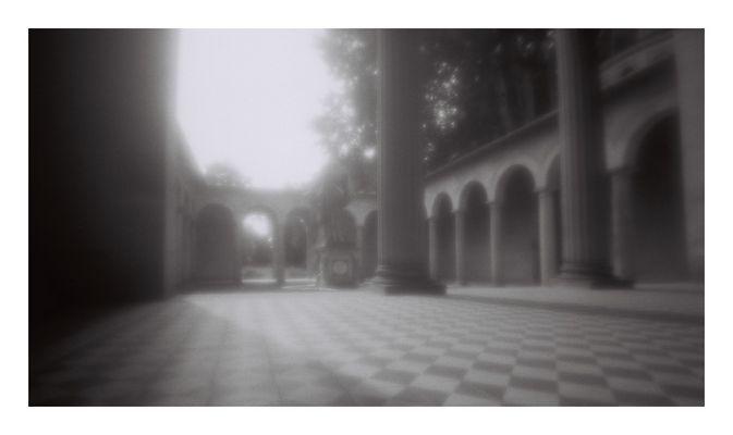 Atrium  - Lochkamera -