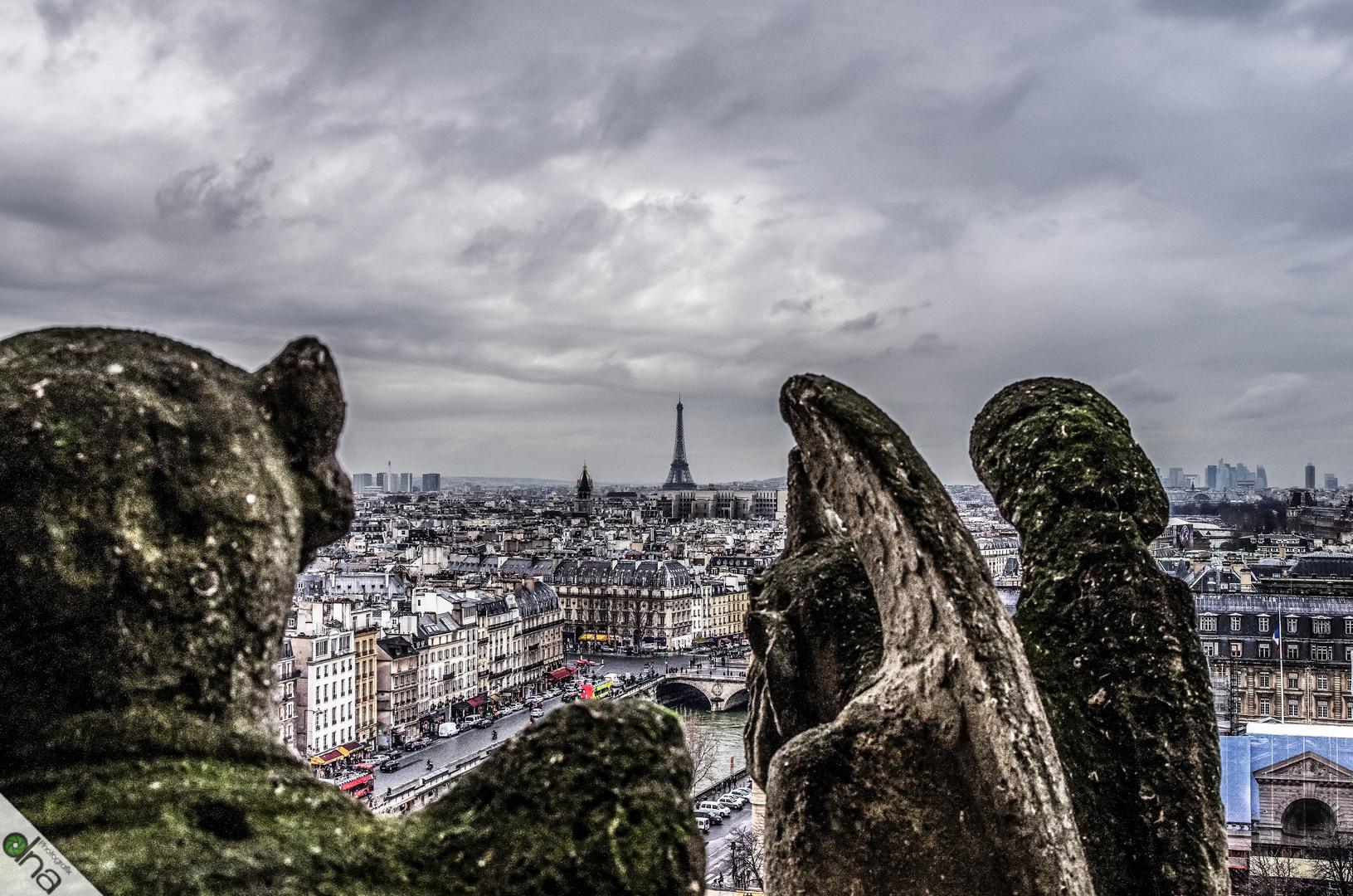 attending over Paris