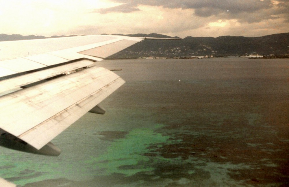 Atterrissage a Montego Bay