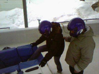 Au bobsleigh