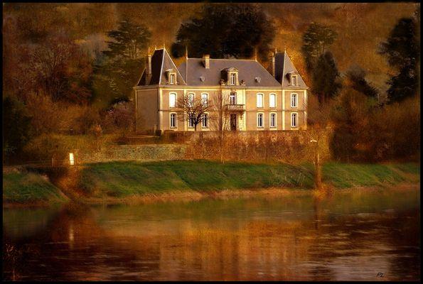 Au bord de la Dordogne nouvelle version .