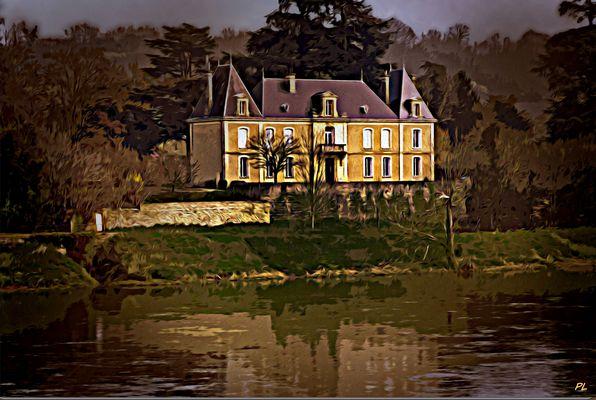 Au bord de la Dordogne Port St foy