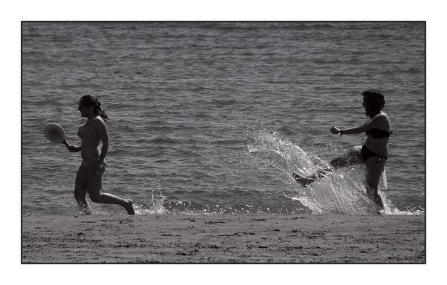 ... au bord de la mer ...