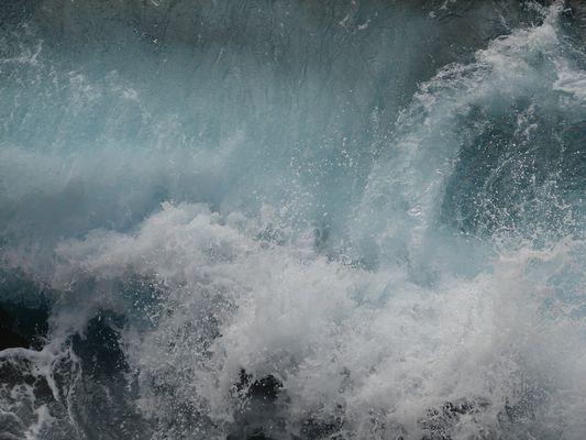 Au bord de la mer ....