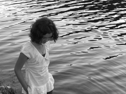 au bord de l'eau