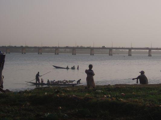Au bord du Niger