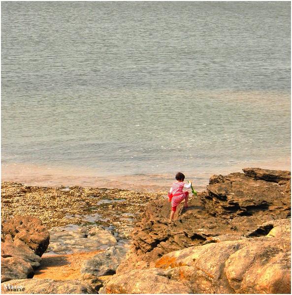 Au bord du rocher