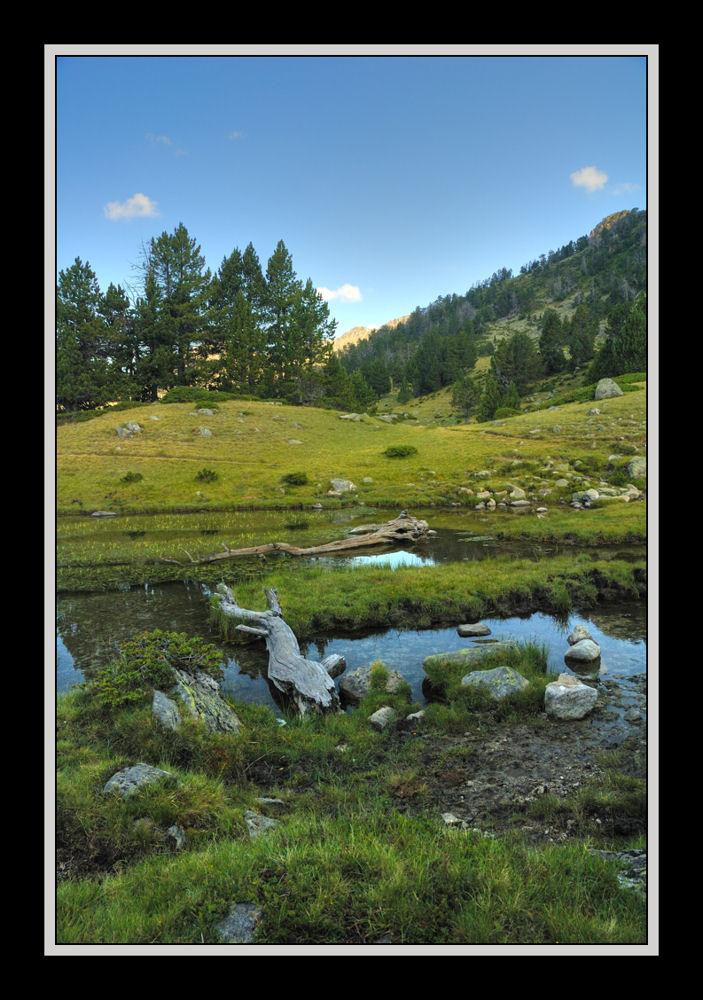 Au bout du lac (HDR)
