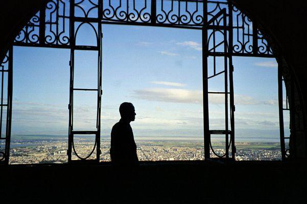 au chateau de santa cruz a Oran